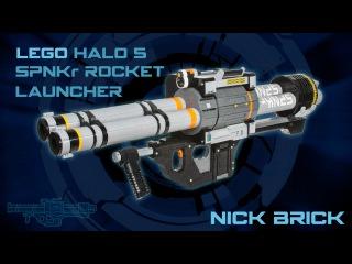LEGO SPNKr Rocket Launcher - Halo 5: Guardians