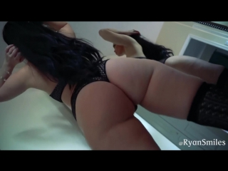 Ryan Smiles Black Lace Mirror Twerk Video