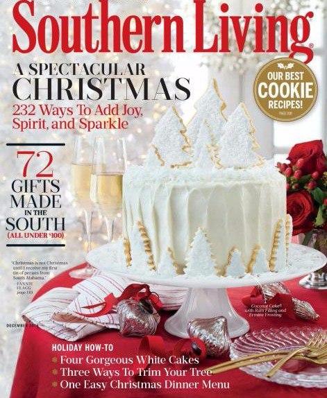 Southern Living December 2016