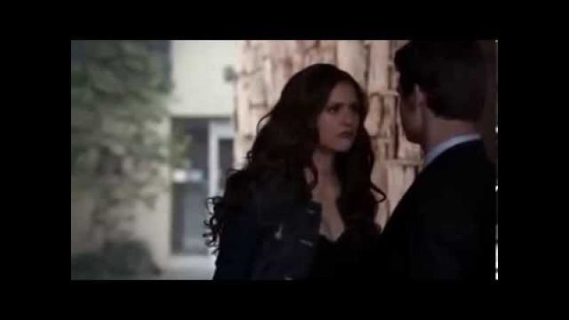 TVD 4X18 Katherine snaps Elenas neck Elijah Katherine I love you