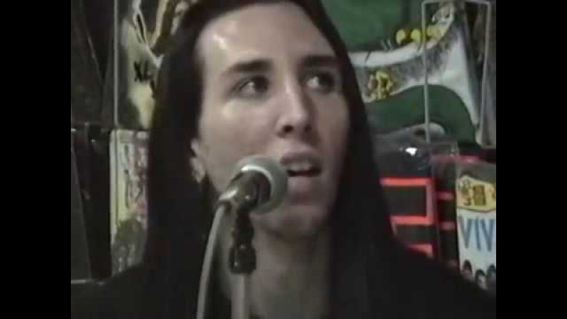 MARILYN MANSON Live at YESTERDAY TODAY RECORDS Miami 1991 Acoustic Show
