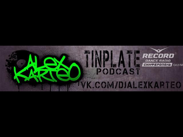 Alex Karteo - Tin Plate Podcast 17 RaggaJungle