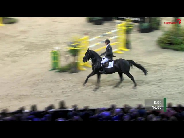 VDL Glasgow vt Merelsnest 2nd in 1.55m class at Indoor Brabant 2017