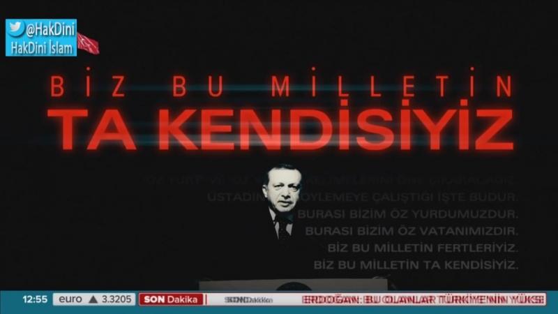 Korkma!! Allah (c.c) Bizimle Beraberdir!! - Başkomutan Recep Tayyip Erdoğan