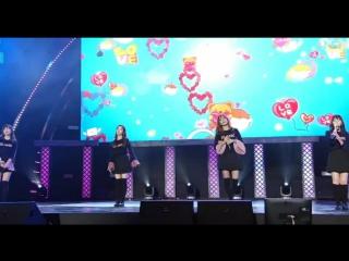 161118 blade & soul world championship n-pop showcase dumb dumb + fool + russian roulette