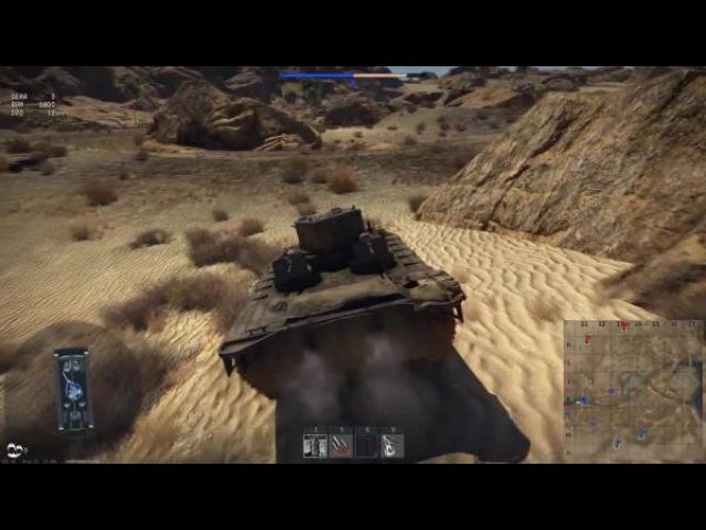 War Thunder Обзор LVT A 1 Плавун нагибун 4 ФРАГА ЗА 11 СЕКУНД