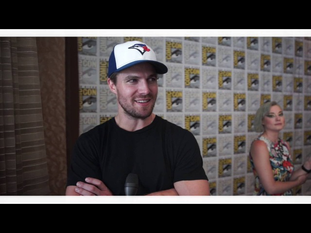 COMIC CON Exlcusive Interview with ARROW's Stephen Amell