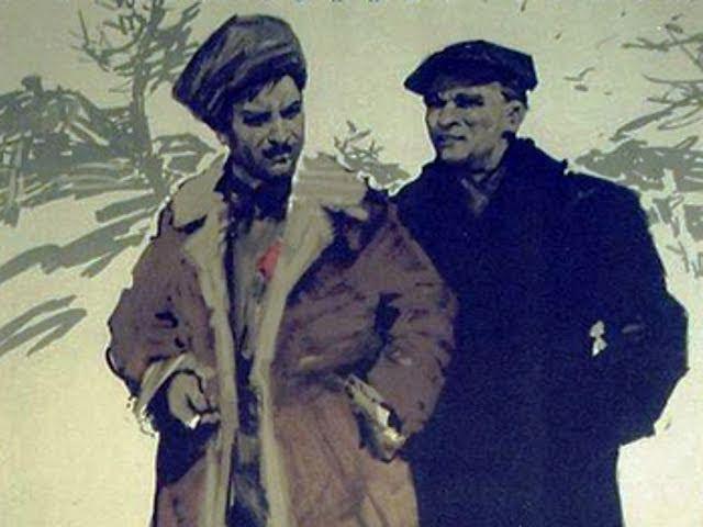 Поднятая целина 1 серия 3 советский фильм драма 1959 год