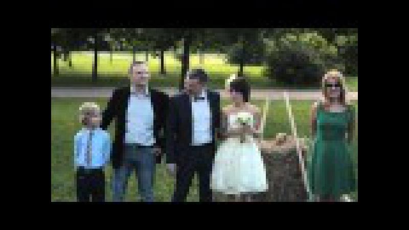 Выездная регистрация в стиле рустик Эко свадьба от Percoff wedding