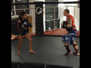 GracieCarvalho on Instagram: Getting sharp with one of my favorite Myay Thai trainer PJ @mcmahon_pj , MAKE SURE you tune in to #CBS tonight 10pm to watch me and all the