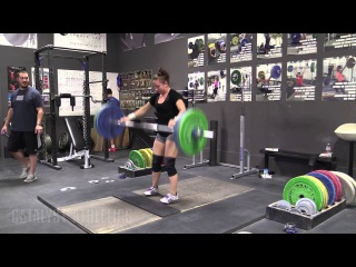 Alyssa Sulay (63kg) - Snatch OTM, Riser Deadlifts, and Back Squats