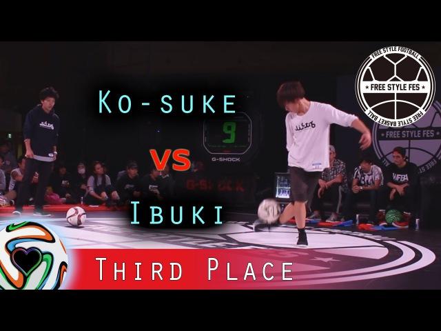 Ko-suke v Ibuki | Freestyle FES 2015 - 3rd Place Battle