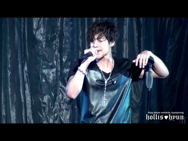 121004 Kim Hyun Joong 김현중 Creep Rock ver @Budokan