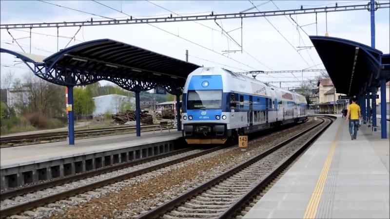 Vlaky - Zeleznice Stredocesky kraj a Praha