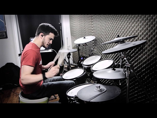 Knife Party - Give it up - Drum Cover by Adrien Drums