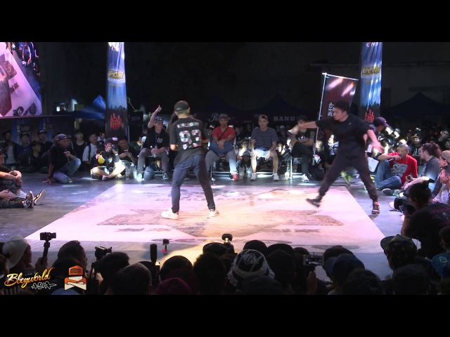 Khenubo MYS vs Harrien TW Quarter Finals The Last Samurai Hustle Freeze Vol 10
