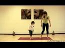 Зарядка для детей. Как делать утреннюю детскую йогу. Зарядка мама с дочкой. Yogalife