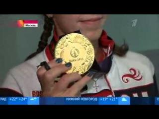 Русский самородок Арина Опенышева завоевала 7 золотых медалей в плавании на Европейских играх в Баку