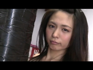 Pov boxing japanese girl sexy knockout and hot training