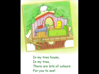 Spotlight 2. students book. p 29 ex 3 - the tree house song