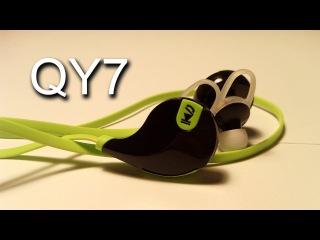 Качественные и недорогие беспроводные наушники QY7