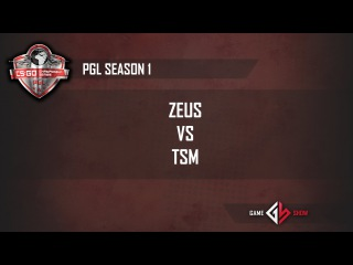 PGL Season 1: Zeus vs. TSM