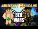 MINIGAME IN MINECRAFT 5 BED WARS РЕВАНШ