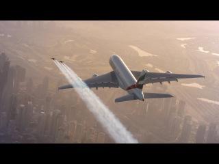 Полет на реактивном ранце над Дубаем