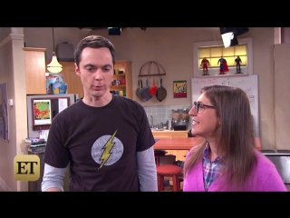Big bang stars on sheldon amy's rough break up and if theyll make up!