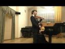 К Сен Санс Э Изаи Этюд в форме вальса Даниил Коган скрипка Анна Тамаркина фортепиано