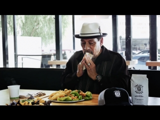 Danny trejo eats tacos for three minutes