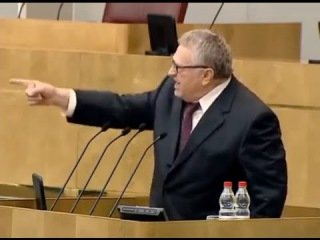 Russian politician Zhirinovsky speech about Lenin in Duma (English subs)