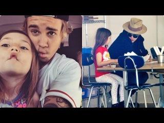 Justin Bieber and Jazmyn Bieber - Sweet Moments