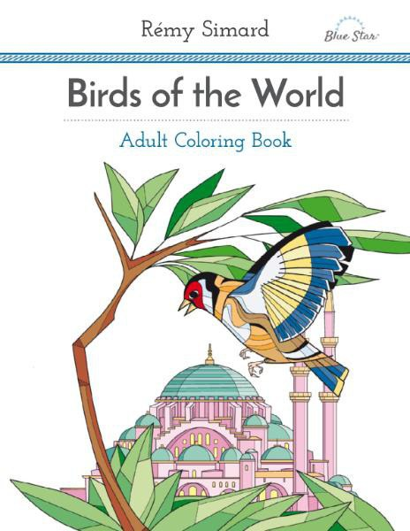 Adult Coloring Book - Birds of the World