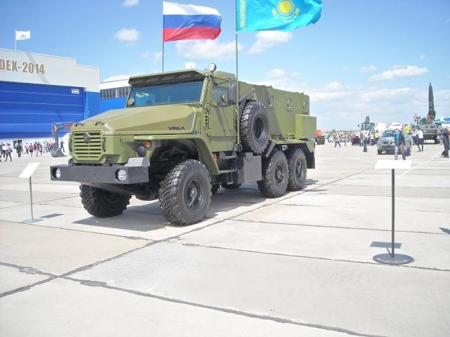 Бронеавтомобиль Урал-ВВ на KADEX-2014