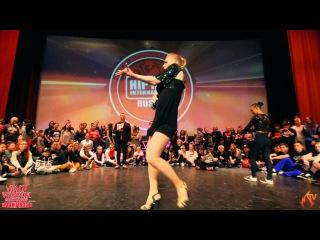 HHI Russia 2016 Waacking 1x1 Final Queen Bazz vs. Alexandra Kresanova