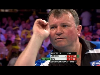 Terry Jenkins v Justin Pipe (PDC World Matchplay 2016 / Round 1)