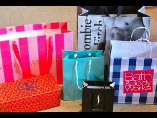 Huge Vacation Haul: Tiffanys, Abercrombie, Victorias Secret, Sephora