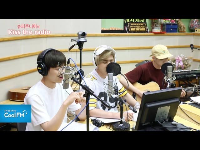 데이식스 DAY6 'Yesterday' 라이브 LIVE 160603 슈퍼주니어의 키스 더 라디오