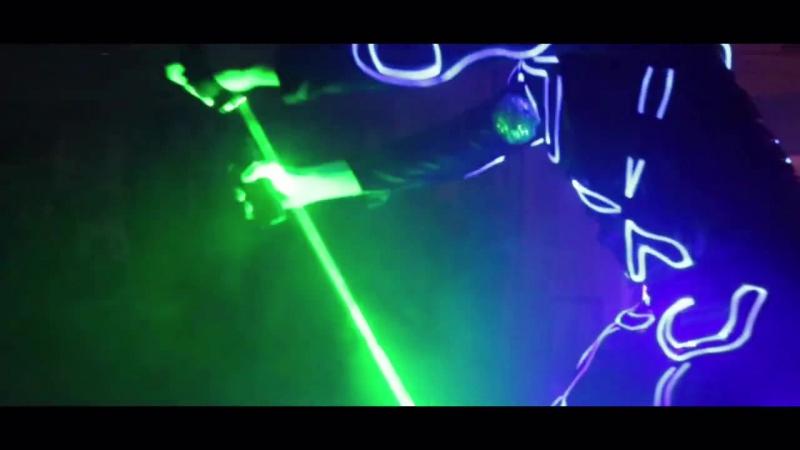 Laser Man show 2016