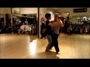 Tango Lesson: Leader's Back Sacadas Followers Who Receive Them