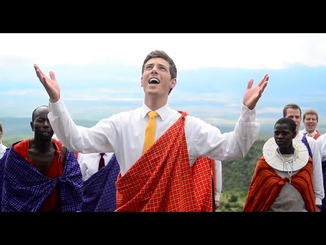 Baba Yetu The Lord's Prayer in Swahili BYU Men's Chorus Music by Christopher Tin Africa