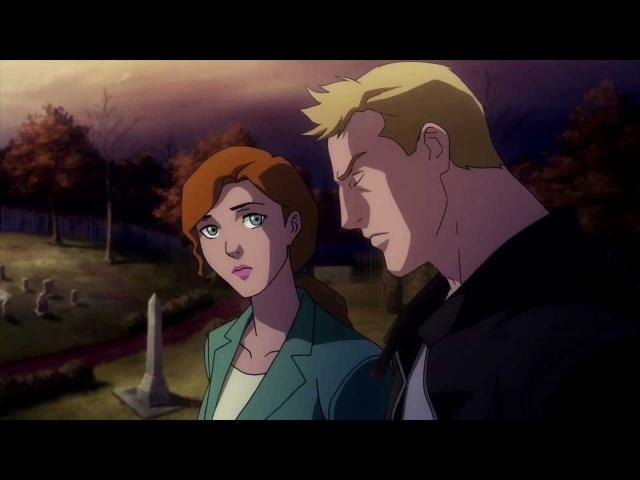 Justice League The Flashpoint Paradox Лига Справедливости Парадокс источника конфликта 2013 трейлер