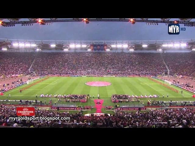 2009 UEFA Champions League Final Opening Ceremony, Stadio Olimpico, Roma