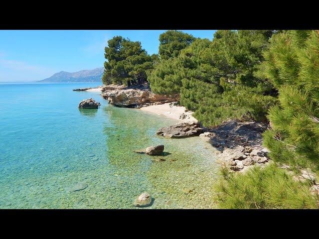Croatia Makarska riviera Promenade and beaches Promajna Baska Voda By my fotos