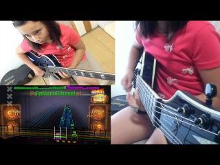 ROCKSMITH Audrey (10) Plays Guitar - Fear of the Dark - Iron Maiden - 98% ロックスミス2014