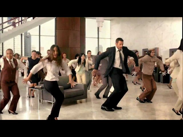 Liptons Ice Tea Hugh Jackman танец в отеле