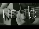 Adele Hello Fingerstyle Guitar Cover by James Bartholomew