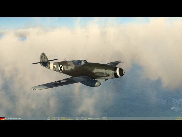 [DCS: Bf 109K-4] VeteranMission1 (Boeing B17 mod)