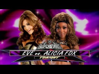 720pHD WWE Superstars  Eve Torres vs Alicia Fox